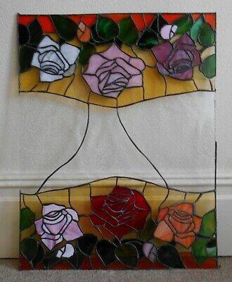 Stained Glass Leaded Window Panel • 60£