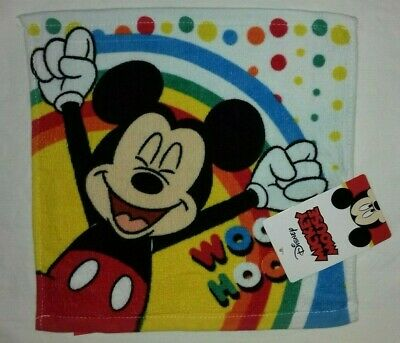 NEW Disney Mickey Mouse Face Cloth/flannel.30x30cms. • 3.25£