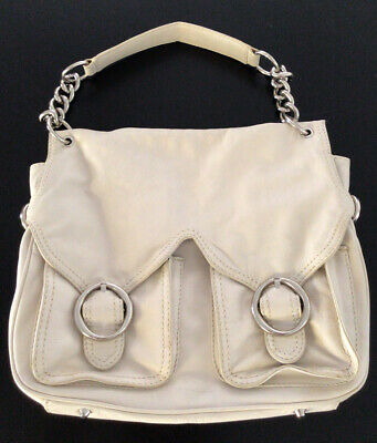 AU20.10 • Buy Oroton Cream Leather Handbag