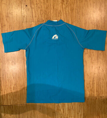 Zoggs Boys UV Protection Sun Top Age 8-9 - Short Sleeved • 1.60£