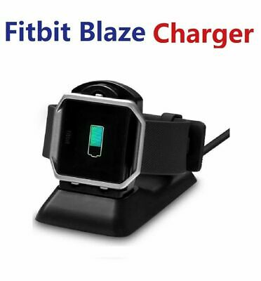 $ CDN14.36 • Buy Fitbit Blaze Replacement Stand USB Fast Charger Charging Dock Cradle Black Color