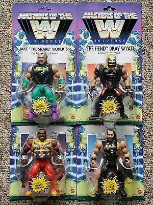 $114.99 • Buy Wwe Masters Of The Universe Motu Wave 4 Set Of 4 Mip The Fiend Mr T Jake Roberts