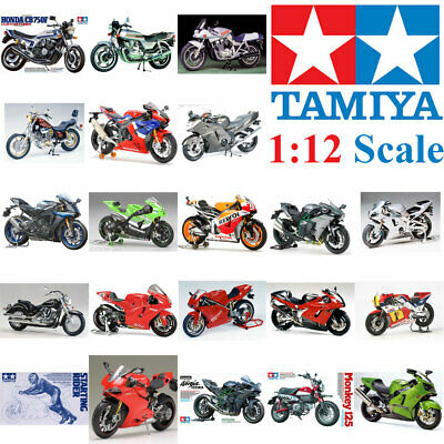 Tamiya 1:12 Plastic Model Bike Kit Multiple Choice • 16.14£