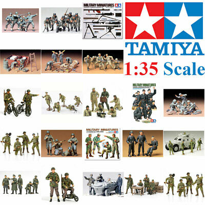 Tamiya 1:35 Plastic Model Figure Kit Military Miniatures Multiple Choice • 9.74£
