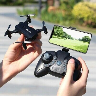 AU43.70 • Buy Mini Drone RC 4K FPV HD Camera Wifi FPV Dron Selfie RC Helicopter Toys For Boys