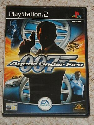 007 Agent Under Fire - Playstation 2 • 2£