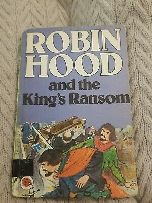 Robin Hood And The King's Ranson Ladybird Book Vintage  • 2.99£
