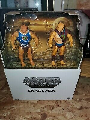 $50 • Buy Masters Of The Universe Classics: Snake Men Pack RARE He-man (No Weapons)