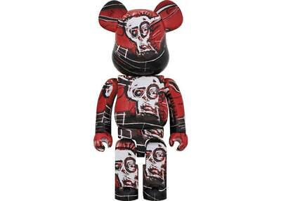 $1808.42 • Buy Only Now Limited Re Basquiat Bearbrick 1000