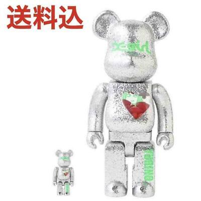 $491.14 • Buy X-Girl Yurino Be Rbrick 100 400 Bearbrick