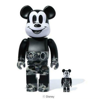 $329.13 • Buy Disney Ape Bearbrick 400 Bape Mickey
