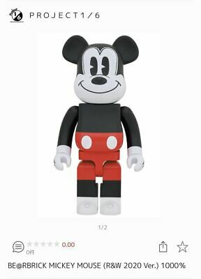 $1003.13 • Buy Be Rbrick Mickey Mouse R W 2020 Ver1000