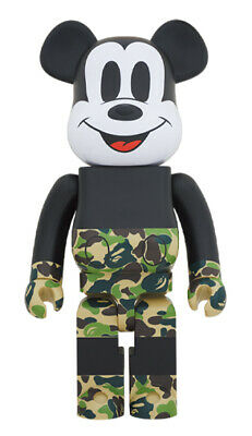 $1940.05 • Buy Mint Mickey 90Th Anniversary Bape Mouse Green 1000 Bear Green/