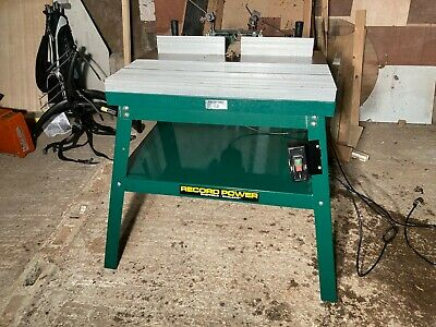 Record Power RPMS-R Router Table (inc. Makita Router) 240v • 499.99£