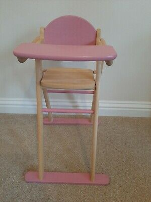 Pintoy Wooden Dolls High Chair  • 5£