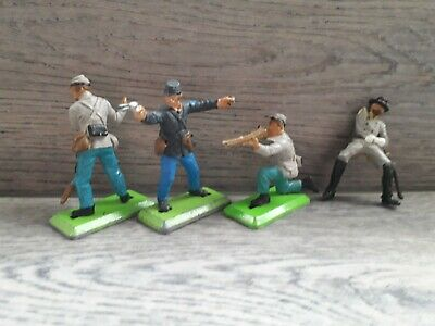 Britains Toy Soldiers. American Civil War. Union And Confederate Soldiers • 6£