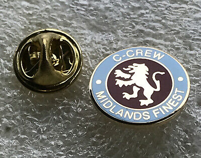 Very Rare Aston Villa Supporter Enamel Badge - C  - Crew Hooligan Firm • 4.99£