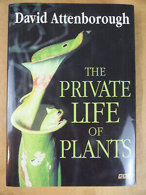 SIGNED The Private Life Of Plants David Attenborough 1995 Life Planet Earth • 99.99£