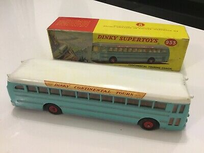 Dinky 953 Continental Touring Coach - Boxed (Good Condition) • 77£