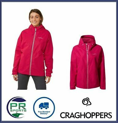 New Craghoppers Womens Outdoor Winter Susa Jacket Aquadry Waterproof Breathable • 39.99£