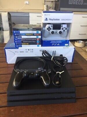 AU420 • Buy Ps4 Pro 1tb With 6   Games And Extra Controller Bargain Black Cod