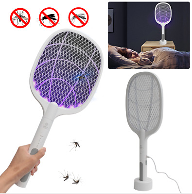AU31.96 • Buy HOT Electric Rechargable Fly Mosquito Killer Bug Insect Zappers Swatter Pest AU