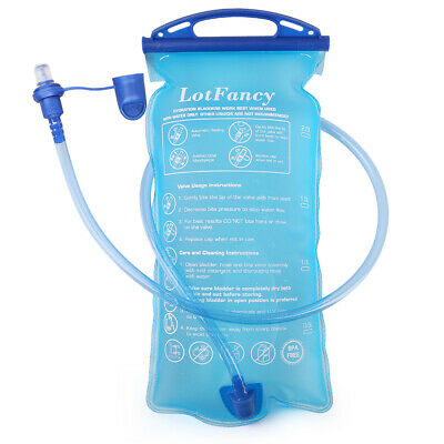 AU16.99 • Buy Hydration Bladder Water Reservoir 2 Liter 2L 70 Oz For Bicycling Hiking Camping