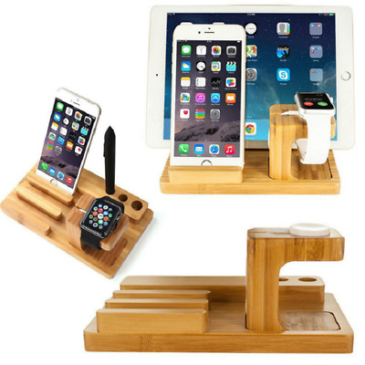 Dock Charging Stand Station Holder For Apple Watch IWatch IPad IPhone X XS 8 Tab • 13.79£