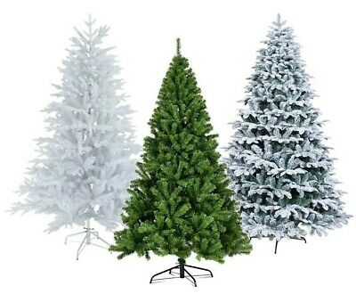 Christmas Tree Xmas 3FT 4FT 5FT 6FT 7FT 8FT With Metal Stand Home Decor Holiday • 26.95£