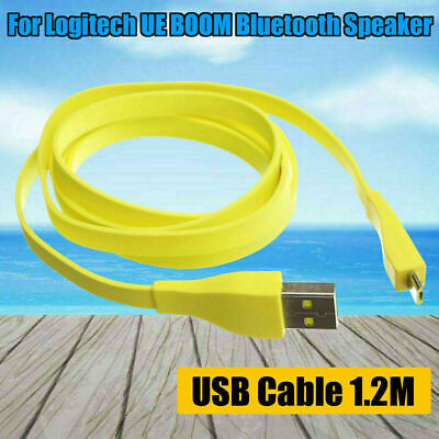 AU11.28 • Buy 1.2M Data Cable Micro USB PC Charger For Logitech UE BOOM Bluetooth Speaker