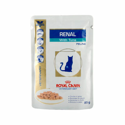 Royal Canin Feline Adult Renal With Fish Wet Cat Food Pouches - 48 X 85g • 50.33£