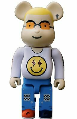 $260 • Buy NIB Medicom Toy J Balvin Vibras 400% & 100% Bearbrick Set White LIMITED EDITION