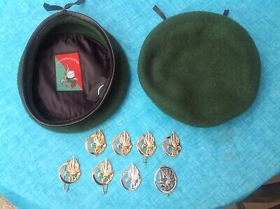 French Foreign Legion Beret With Legion Label And Beret Badge • 19£