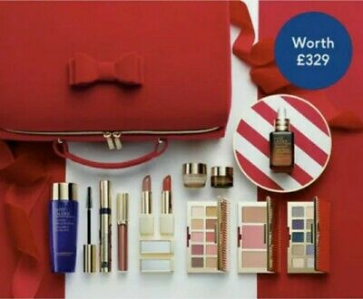 Estee Lauder Blockbuster 2020 Christmas Gift Wrapped Set RRP £329 FREE POSTAGE  • 51£