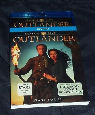 AU28.71 • Buy Outlander - Season 5 Bluray Set - NEW SEALED With Slipcover