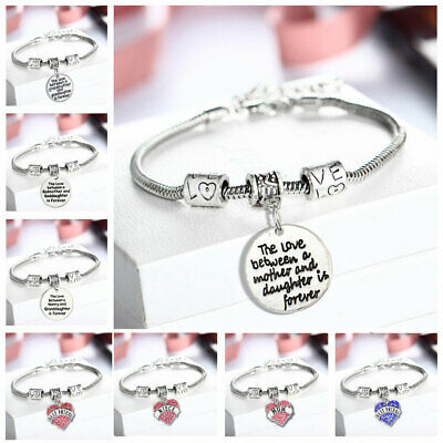 £5.46 • Buy 925 Sterling Silver Plated Bangle Charm Chain Bracelet Lady Women Jewellery Gift