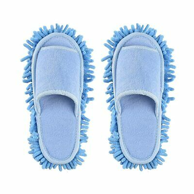 Xunlong Unisex Slippers Floor Cleaning Mop Men And Women House Slippers Dust Cle • 4£