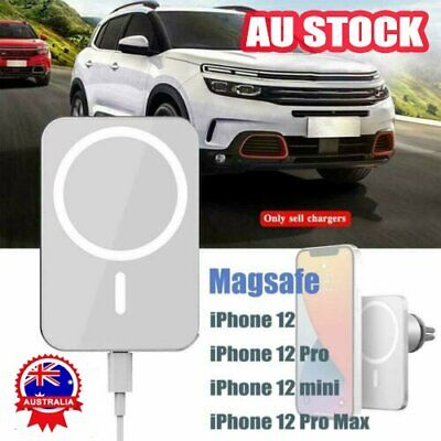 AU24.56 • Buy Magnetic Car Mount Wireless Charger With MagSafe For IPhone 12 Mini 12 Pro Max A