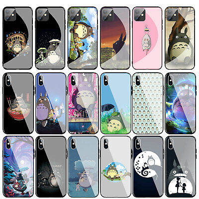 My Neighbor Totoro Tempered Glass Case For IPhone 11 Pro XR X XS Max 8 7 6s Plus • 4.59£