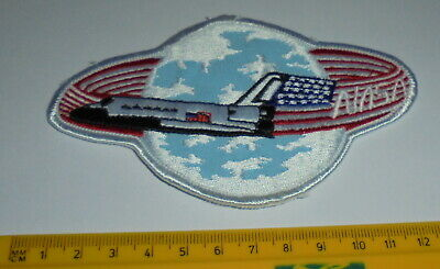 NASA Space Shuttle Embroidered Patch Ref#104 • 4.99£