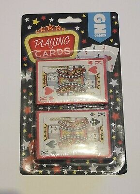 Pack Of 2 Playing Cards Sealed, Use On Holidays, Camping, Days In, Poker,  • 3.99£