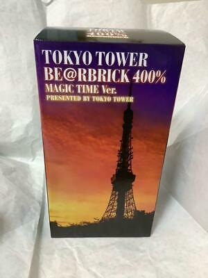 $862.69 • Buy Mint Limited Edition Tokyo Tower Be@Rbrick 400 Bearbrick Magic Time