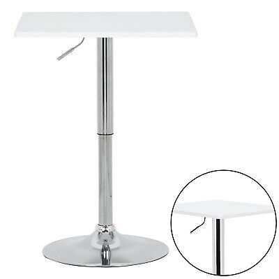 Bar Table Dining Table Coffee Table MDF Rotating Table Top Height Adjustable • 55.55£