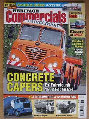 £4.50 • Buy Heritage Commercials September 2012 Foden 6x4 Scammell Pioneer 2CV Pickup Munro