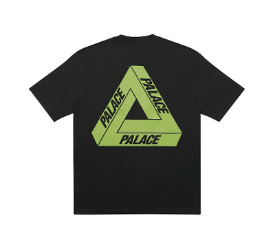 Palace Tri-To-Help T-Shirt   Bright Green   Large • 55£