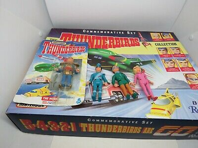 Matchbox Thunderbirds Collection Bbc Commemorative Set And Figures • 35£
