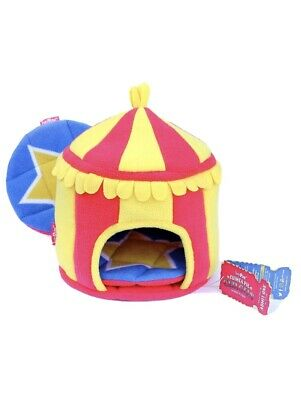£21.99 • Buy HAYPIGS Guinea Pig Toys And Accessories - Circus Themed Fleece HIDEY HUT Guinea