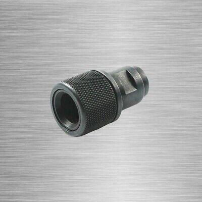 $31.01 • Buy Barrel End Threaded Adapter M8x.75 To 1/2-28 1/2-20 Protector Walter Black MP22