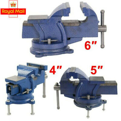 """4/"""" Heavy Duty Work Bench Vice Engineer Base Workshop Vise Clamp New"""