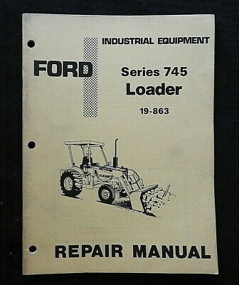 AU46.83 • Buy 1978-79 Ford Model 340 540 Tractor  Series 745 Front End Loader  Repair Manual